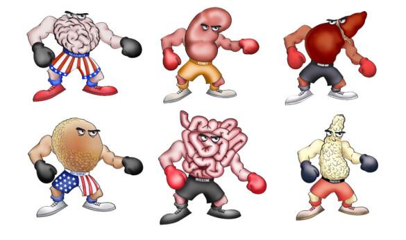Body Organ Boxers